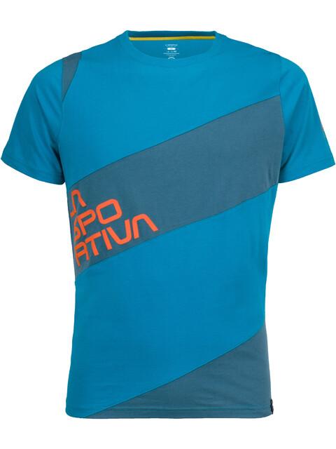 La Sportiva M's Slab T-Shirt Tropic Blue/Lake